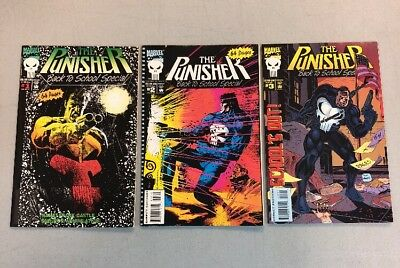 Punisher Back To School Special 1-3 Complete Set Marvel Comics