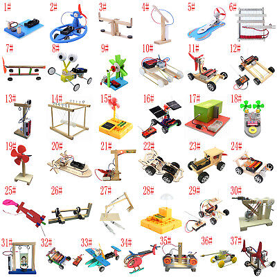 DIY Puzzles Model Science Experiment Equippment Material Baby Kids Learning Toys