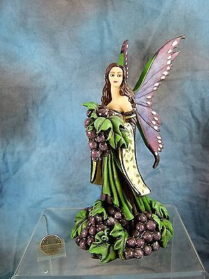 "Amy Brown Fairy Figurine ""the Wine Nymph"""
