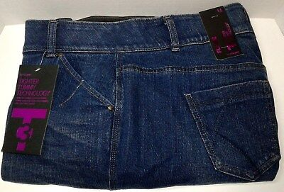 Lane Bryant T3 Flare Sz 16 Stretch Jeans 37 x 32 Tighter Tummy Technology