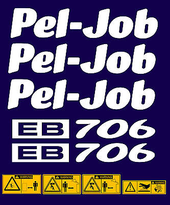 Pel Job EB706 Stickers