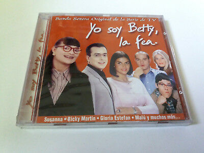 "Original Soundtrack ""yo Soy Betty La Fea"" Cd 14 Tracks Bso Ost Banda Sonora"