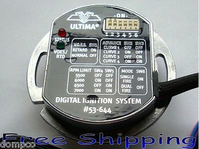 ULTIMA® Single Fire Programmable Ignition Module for '83-up Harley EVO/Blockhead