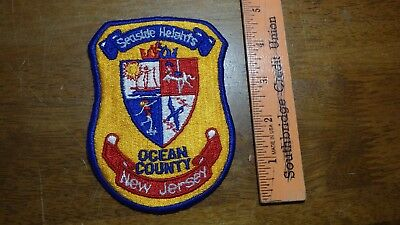Seaside Heights Ocean County New Jersey  Obsolete  Patch Bx 2 #15