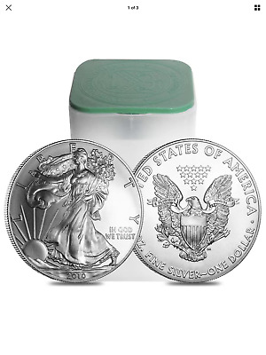 Roll of 20 - 1 oz Silver Mixed  American Eagle $1 Coin BU (Lot, Tube of 20)
