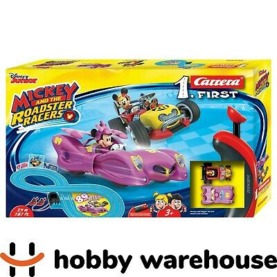 Carrera First Disney Junior Mickey and the Roadster Racers Minnie Slot Car Set