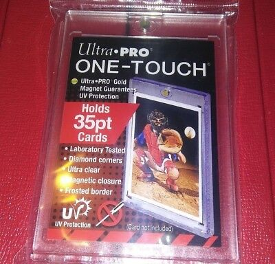 1 New Ultra Pro One Touch Magnectic Card Holder 35 Point For Standard Size cards