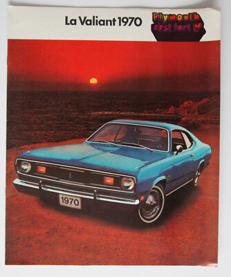 PLYMOUTH VALIANT 1970 dealer brochure - French - Canada HS1002000118