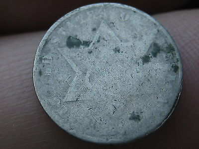 1860-1863 Three 3 Cent Silver Trime- Rare Lowball Type 3