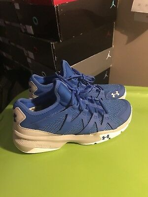 Under Armour Charged Phenom 2 Mens Running Shoes Fitness Trainers Blue 1e1839028186