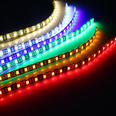 2PC 18 LEDs 30cm 5050 SMD LED Strip Light Flexible 12V Car Decor Waterproof NEW
