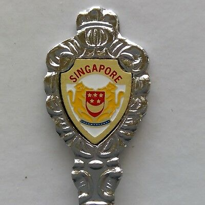 Singapore Coat Of Arms Souvenir Fork (T174)