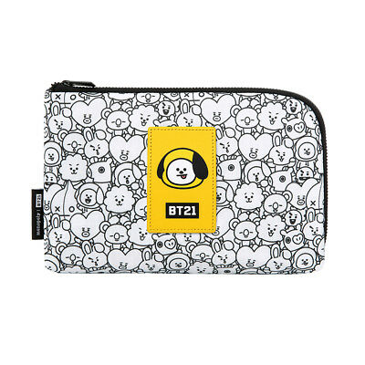 [BTS BT21] Bangtan CHIMMY Official Portable Cosmetics Cable Pouch(Free shipping)