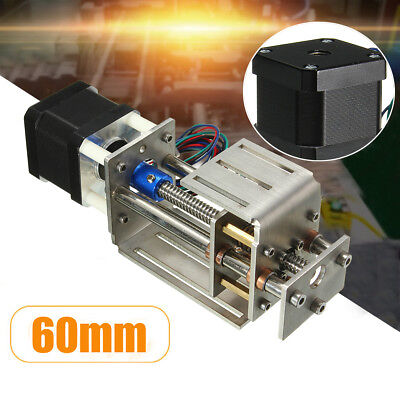 Z Axis Slide 3 Axis 60MM DIY Milling Linear Motion CNC Engraving Machine New m