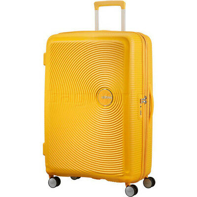 American Tourister Curio Large 80cm Hardside Suitcase Golden Yellow 86230