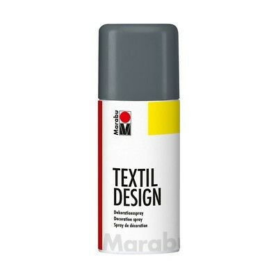 Marabu TextilDesign graphit Colorspray für Textilien, 150 ml