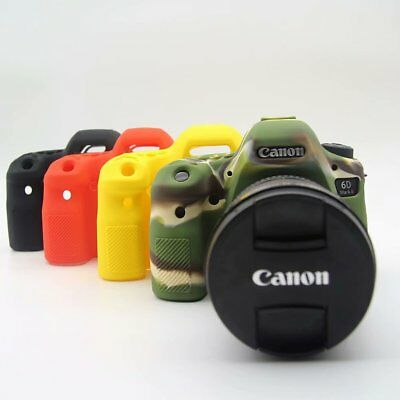 Rubber Silicon Case Body Cover Protector Frame Skin for Canon 6D Mark II Soft