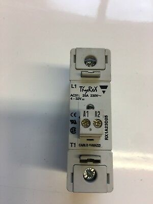 Carlo Gavazzi RX1A23D25MP Solid State Relay  230 Volt 25 Amp