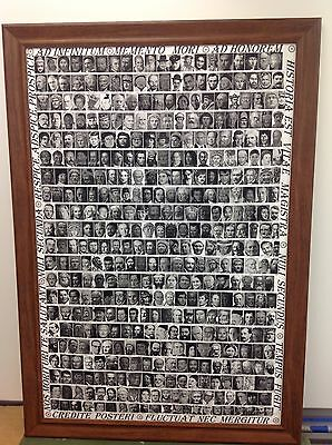 New- Oda Historia - POSTER - 430 Most Influential People in the History 36x24