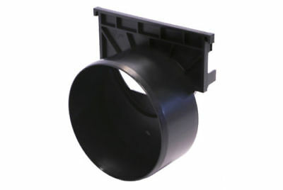 ACO 110mm Outlet End Cap | Suitable for Hexdrain & Raindrain | Outlet Endcap