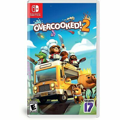 [In-stock] Overcooked 2 For Nintendo Switch NS Brand New Seal CHI / English Ver
