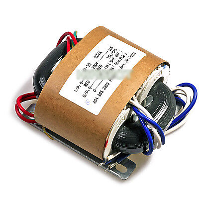 50W R-Core Transformer for Audio Amplifier Power AMP - Selectable Input Outputs