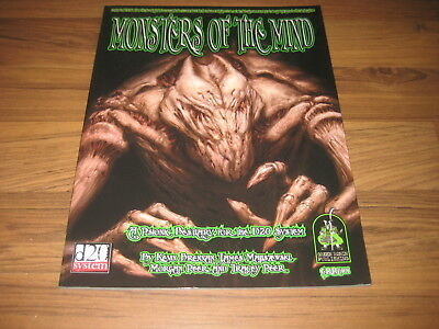 d20 Monsters of the Mind Accessory SC 2003 Green Ronin GRR1401 TOP EX