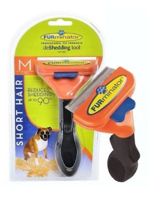 Furminator Short Hair De Shedding Tool for Medium Dogs