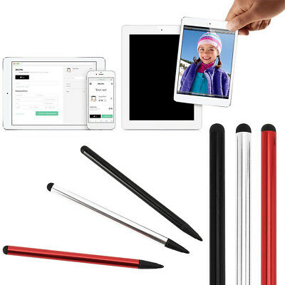 3pcs Universal Touch Screen Thin Capacitive Stylus Pen For iPhone iPad Samsung
