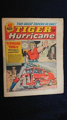 Tiger And Hurricane 28Th August 1965 Fleetway Publications British Weekly Comic