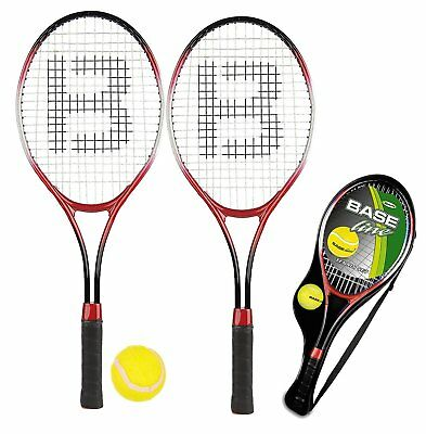 2 Player Junior Tennis Rackets & Ball Kids Outdoor Summer Racquet Fun Garden