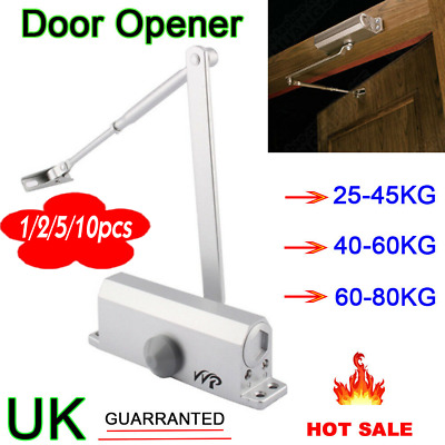 Fire Rated Overhead Door Opener Closer Automatic Closure & Soft Close 25~80Kg Uk