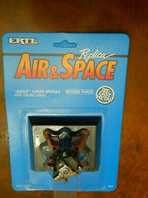 ERTL DIE CAST LUNAR MODULE FROM APOLLO 11 as flown by NEIL ARMSTRONG