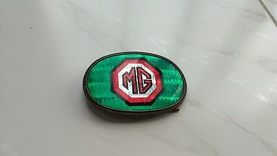 Vtg Mg Mga Mgb Midget Belt Buckle 1970's