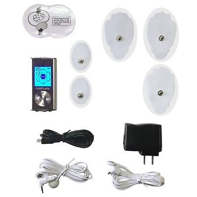 Deluxe Tens Unit -  Electric Stimulation Massage Muscle Therapy and Pain Relief