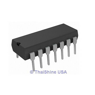 2 x LM380 LM380N 2-Watt Audio Power Amplifier IC - USA Seller - Free Shipping