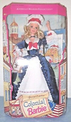 Colonial Barbie - 1994 American Stories - Special Edition NRFB - vintage