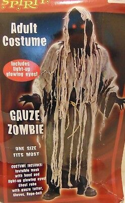 "Halloween Costume ""Gauze Zombie"" Adult One Size Fits Most!!!"