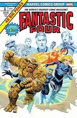 Fantastic Four #1 (2018) Mike Mayhew Variant limited to 3000!!!