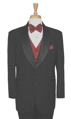 Men's - After Six 100% Wool 2 Button Tuxedo Coat Dinner Jacket - All Sizes