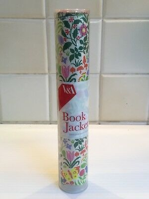 V&a Colourful Floral Fabric Printed Book Cover By Charles Voysey. New