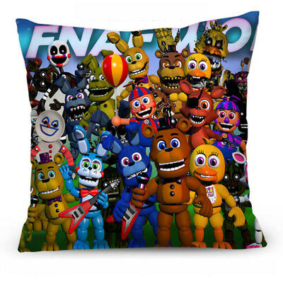 Comfortable Five Nights at Freddys Home Decorative Pillow Cover FNAF Pillow Case