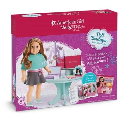 American Girl Truly Me Doll Boutique Read & Create Kit Set