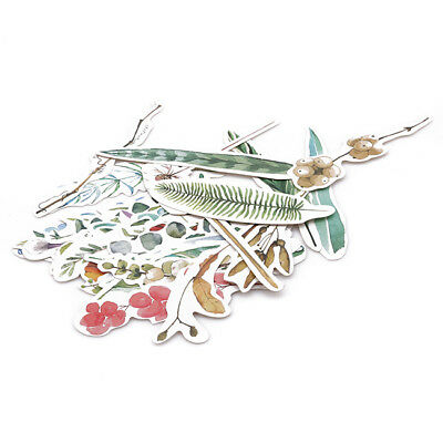 30 Pcs Feathers Paper Bookmarks Set School Office Stationery Film Marker Gift G