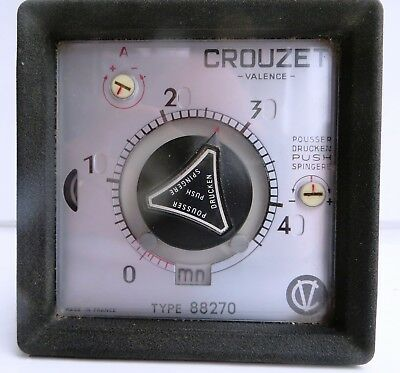 Crouzet 88270 Electro Mechanical Timer