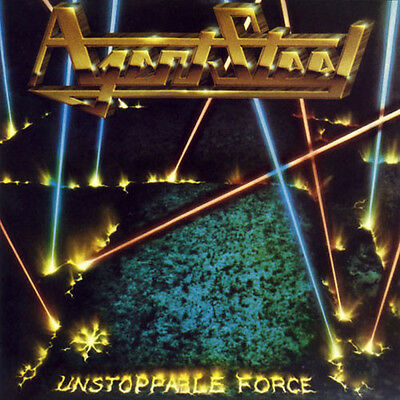 Agent Steel - Unstoppable Force + Mad Locust Rising LP - Yellow Vinyl - SEALED