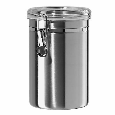 Stainless Steel Air Tight Canister 64 fl oz - Food & Coffee Storage Container