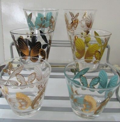 6 Fred Press Rocks Glasses *Barware*