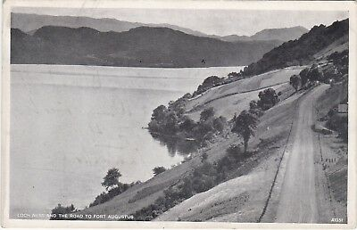 Loch Ness & Road, Nr FORT AUGUSTUS, Inverness-shire
