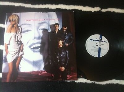 """TRANSVISION VAMP - THE ONLY ONE - 12"""" SINGLE VINYL RECORD wendy james"""